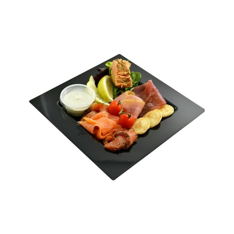 Assiette terrine de poisson salade de concombre et pommes for Salade poisson