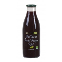 Pur jus de fruits rouges Bio